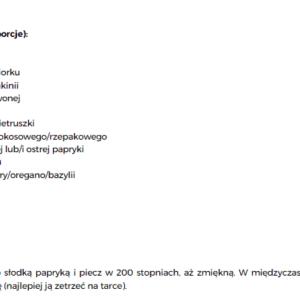 """Ebook """"Zdrowe przepisy Low Fodmap"""" – biało-czarny. GOTOWY DO DRUKU."""